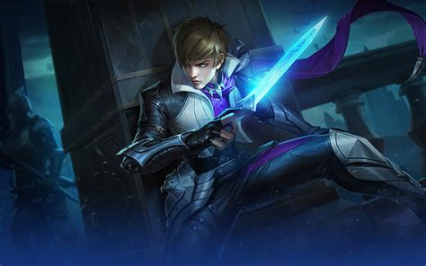 ml wallpaper gusion holy blade heroes assassin mage