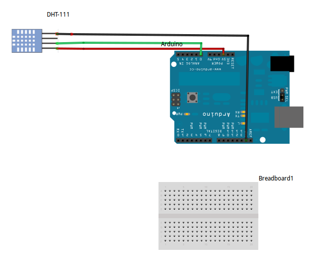 Projects from tech dht with adafruit library and