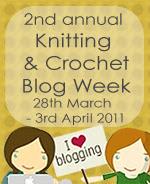 Knit Crochet Blog Week