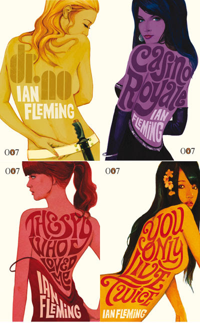 New Penguin James Bond covers
