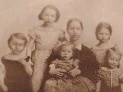 Penepope Pryor and their Five Children