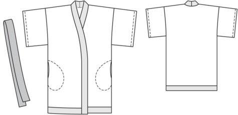 Patrón Kimono Burda