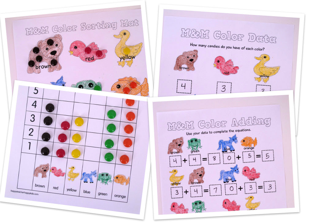 Free Brown Bear Activities For Back To School In Kindergarten