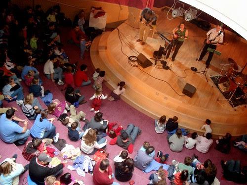 The Rotunda crowd