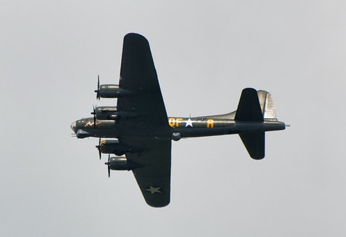 Flying Fortress this afternoon