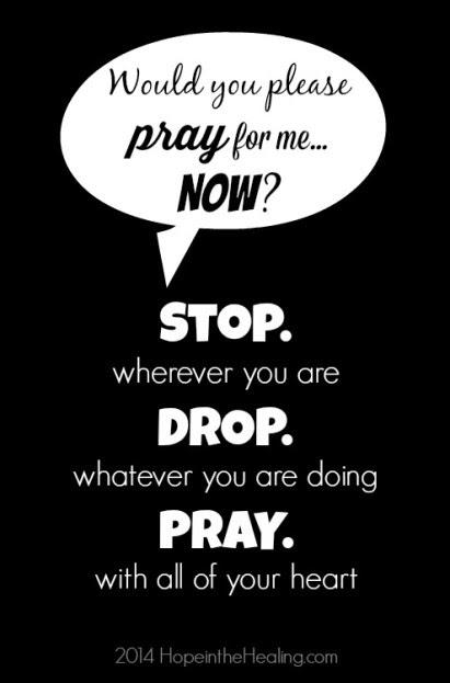 Stop Drop Pray