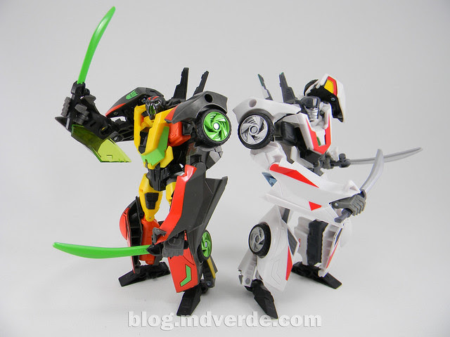 Transformers Dead End - Prime RID - modo robot vs Wheeljack