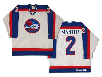 Winnipeg Jets 82-83 home jersey