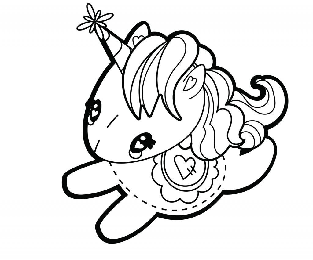 Dibujo De Unicornio Infantil Dibujos Para Colorear