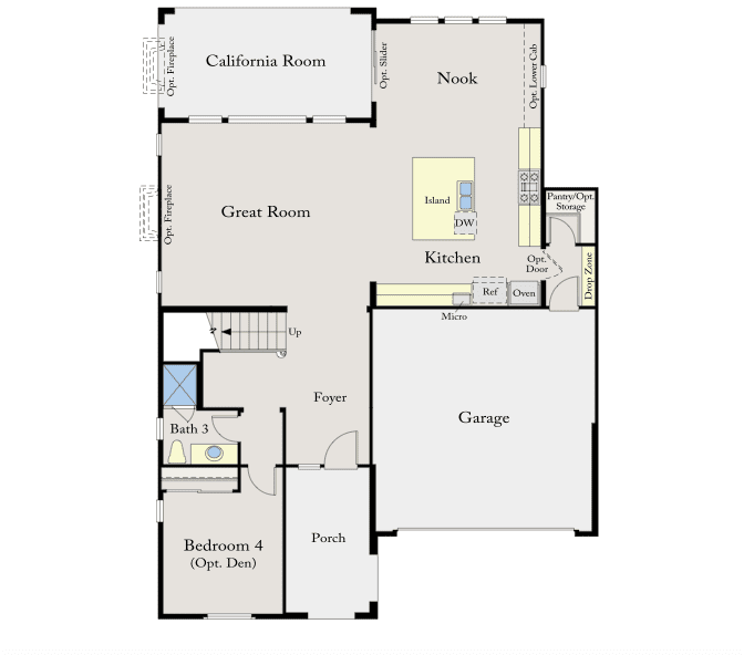 Awesome Standard Pacific Homes Floor Plans - New Home ...