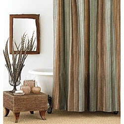 Manor Hill Sierra Extra Long Shower Curtain | Overstock.