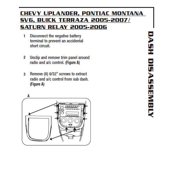 2006 Chevy Uplander Wiring Diagram 1995 Kawasaki Gpz 1100 Wiring Diagrams For Wiring Diagram Schematics