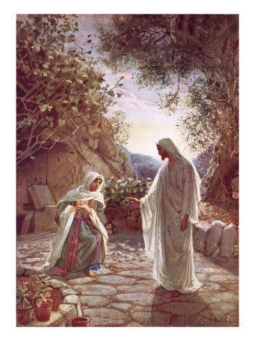 Image result for mary magdalene at jesus tomb