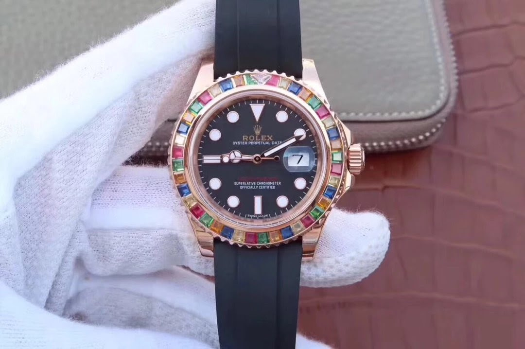 Replica Rolex YachtMaster 116695SATS