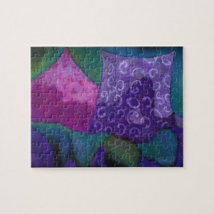 The Hideaway, Purple Pink Heaven Puzzles