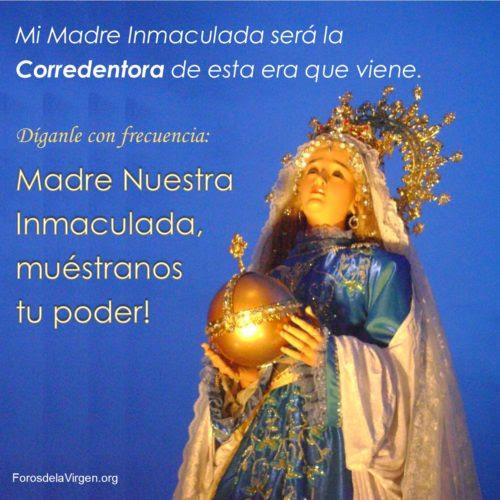 Triunfo Inmaculado Corazón de María
