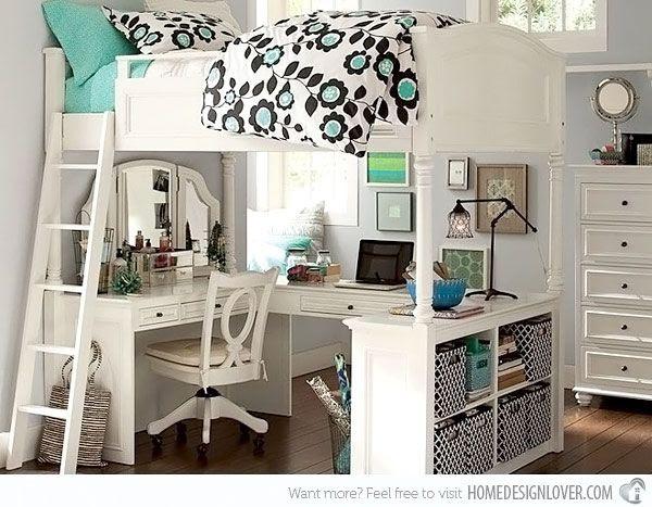20 Stylish Teenage Girls Bedroom Ideas i love this building!!!