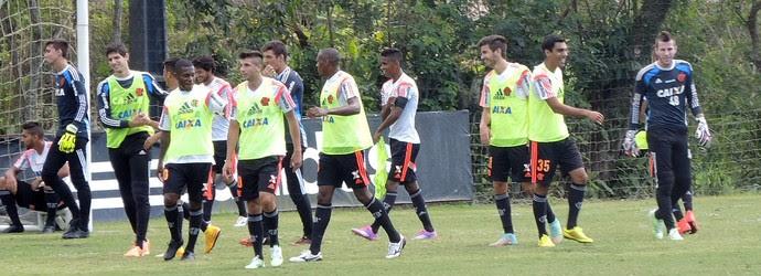 Treino Time do Flamengo (Foto: Diego Rodrigues)