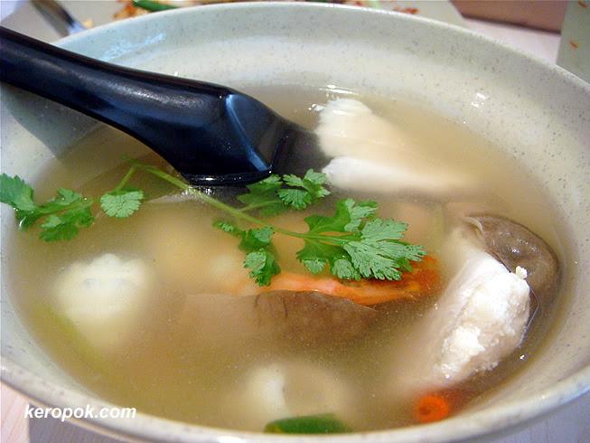 Tom Yam Soup - Potent!