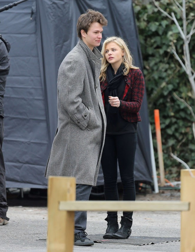 Chloe Moretz: Set of November Criminals -22