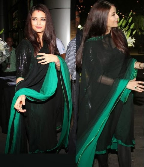 Fashion Glamour World Aishwarya Rai Wear Bollywood