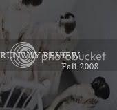 fall 2008 runway review