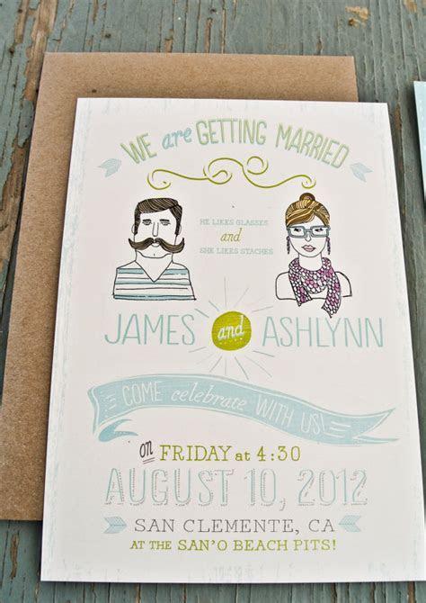 Handmade Custom Wedding Invitations