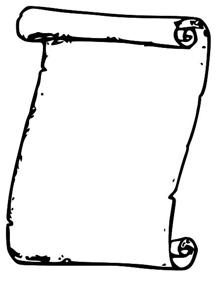 91 Scroll Clip Art Clipartlook
