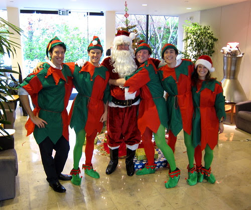 Santa & The Merry Elves