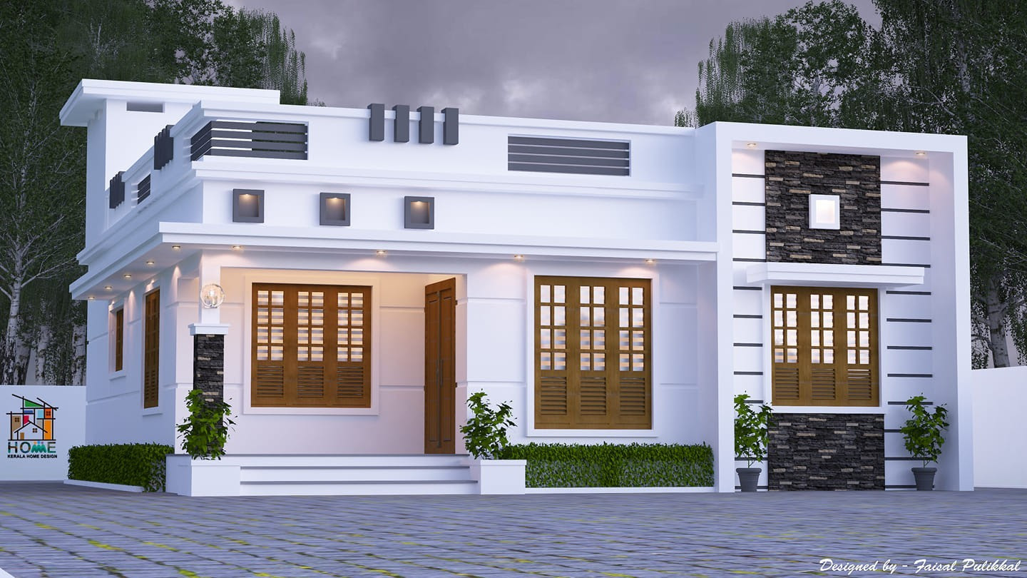 1174 Square Feet 3 Bedroom Single Floor Modern Beautiful House Design Home Pictures