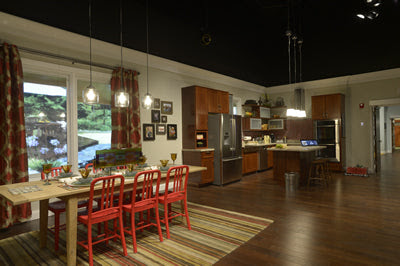 VISION House® Dining Room and Kitchen