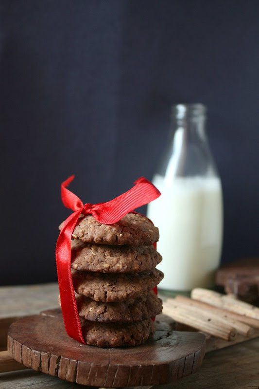 oat and ragi cookies