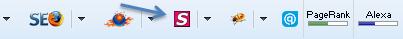 Fireshot icon on Toolbar