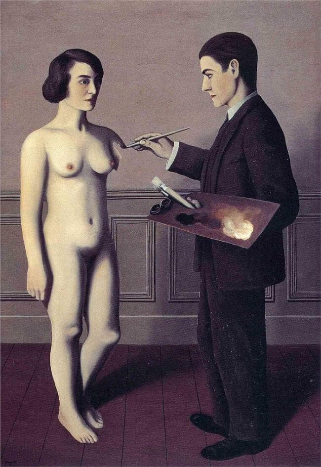 Attempting the Impossible, 1928 by Rene Magritte
