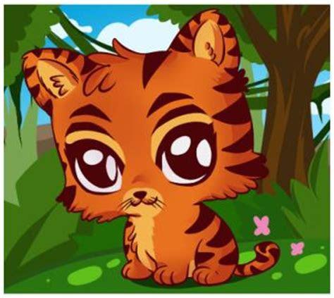draw  cute tiger step  step safari animals