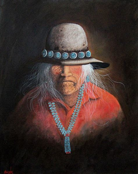 Savvy Collector » Navajo Black Hat with Turquoise Hat Band