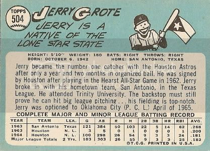 #504 Jerry Grote (back)