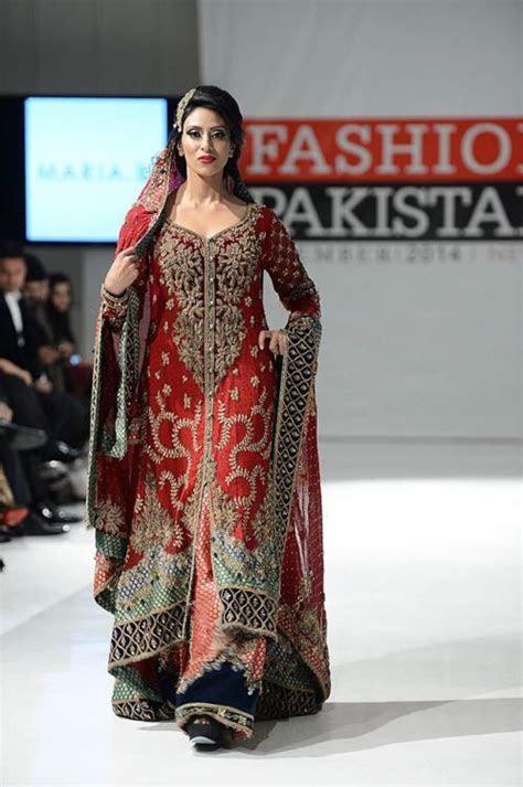 New York Pakistan Fashion Week Maria B Dress 2015   BRIDAL