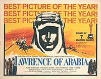 Afiche de 'Lawrence de Arabia'