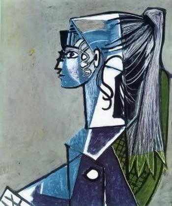 Pablo Picasso, Portrait de Sylvette