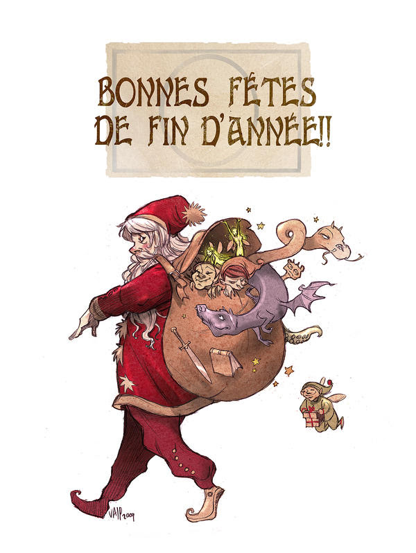 merry christmas by Sally-Avernier