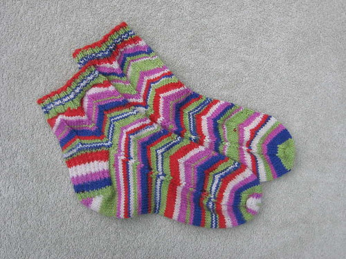 Jelly bean Jaywalker socks