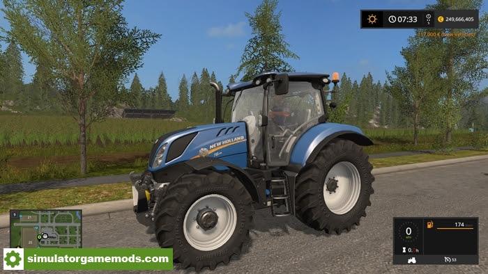 Fs17 New Holland T6 Series V  1 Simulator Games