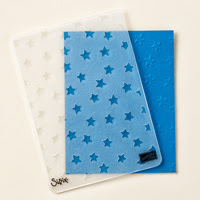 Lucky Stars Textured Impressions Embossing Folders