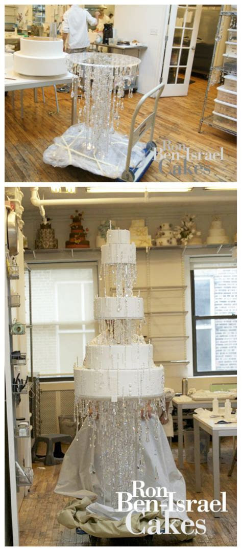 Ron Ben Israel?s Jewel of a Wedding Cake   The Bridal