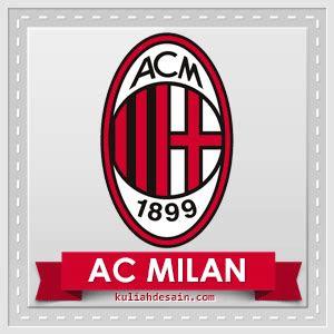 gambar logo ac milan gambar dp bbm ac milan keren