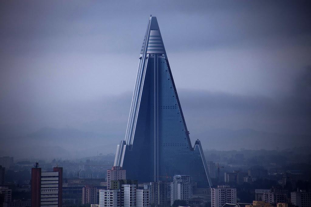 North Korea - Ryugyong hotel