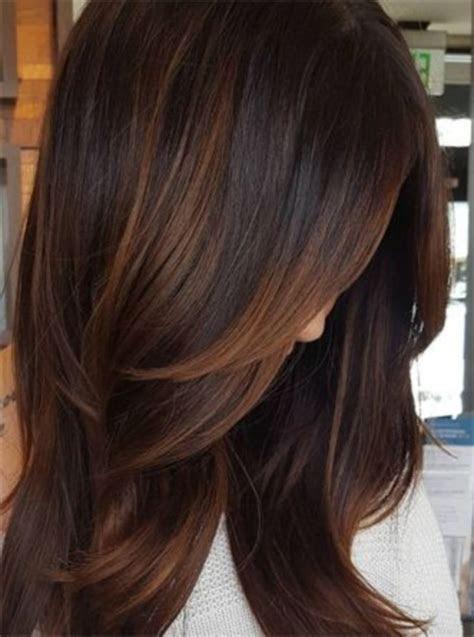 Creative dark brown hair color highlights ideas 19   VIs Wed
