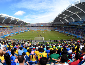 Carrossel Estádio Arena das Dunas (Foto: Getty Images)