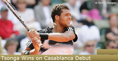 Black Tennis Pro's Jo-Wilfried Tsonga